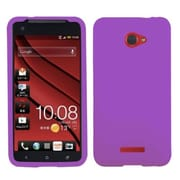 Insten® Protector Case For HTC Droid DNA, Electric Purple