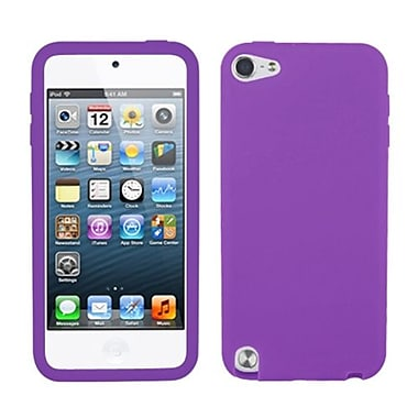 Insten® Solid Skin Cover For iPod Touch 5th Gen, Electric Purple