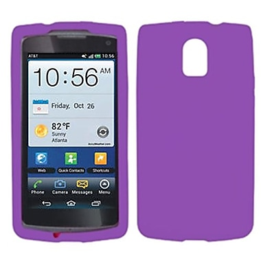 Insten® Skin Case For Pantech P9090 Magnus, Solid Electric Purple