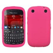 Insten® Silicone Skin Gel Case For BlackBerry 9310, Solid Hot-Pink