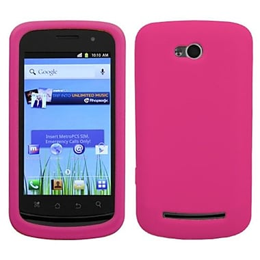 Insten® Skin Cover For Coolpad 5860E Quattro 4G, Solid Hot-Pink