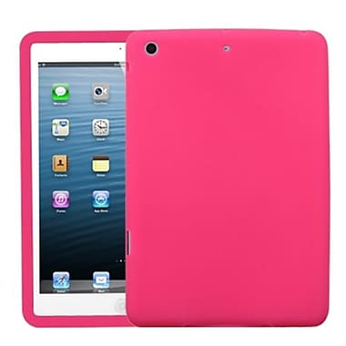 Insten® Solid Skin Cover For iPad Mini/iPad Mini 2, Hot-Pink