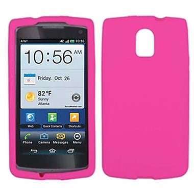 Insten® Skin Case For Pantech P9090 Magnus, Solid Hot-Pink