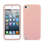 Insten® Solid Skin Cover For iPod Touch 5th Gen, Pink