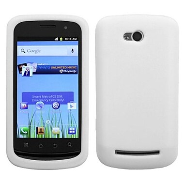 Insten® Skin Cover For Coolpad 5860E Quattro 4G, Solid Translucent White