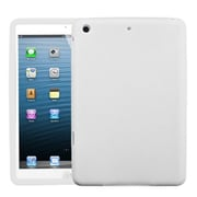 Insten® Solid Skin Cover For iPad Mini/iPad Mini 2, Translucent White