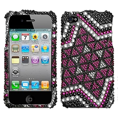 Insten® Premium Diamante Protector Cover F/iPhone 4/4S, Solitaire