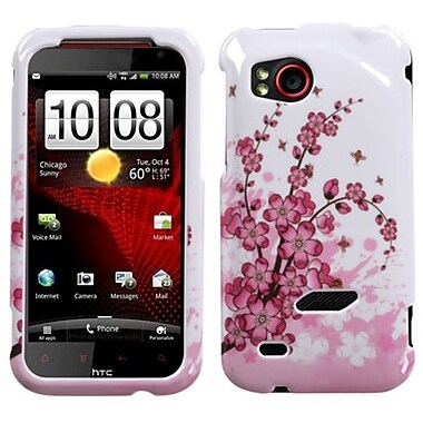 Insten® Protector Case For HTC ADR6425 Rezound, Spring Flowers