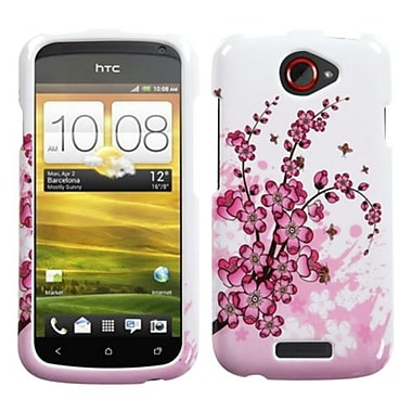 Insten® Protector Case For HTC-One S, Spring Flowers