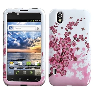 Insten® Protector Case For LG LS855/Marquee, Spring Flowers