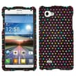 Insten® Diamante Protector Case For LG P880 Optimus 4X HD, Sprinkle Dots
