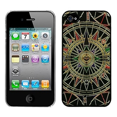 Insten® Back Protector Cover F/iPhone 4/4S, Star Compass Dream