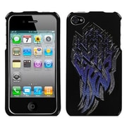 Insten® Phone Protector Cover F/iPhone 4/4S, Steel Shard