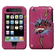 Insten® Clazzy Cover For iPhone 3G/3GS, Strawberry Sweetheart