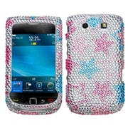 Insten® Diamante Protector Case For BlackBerry 9810 (Torch 4G)/9800, Stylish Stars