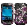 Insten® Diamante Protector Case For BlackBerry 9800/9810, Super Star