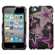 Insten® Diamante Protector Cover For iPod Touch 4th Gen, Super Star