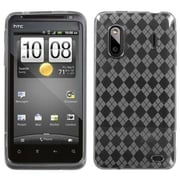Insten® Argyle Candy Skin Cover For HTC Hero 4G/Kingdom/ADR6285 Hero S/EVO Design 4G, T-Clear Pane