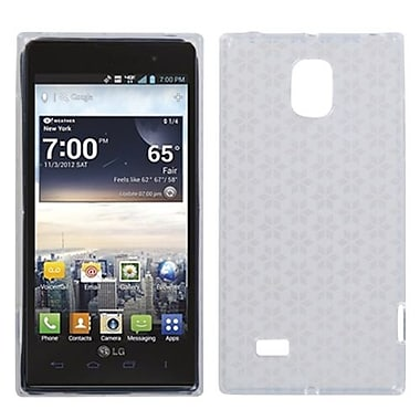 Insten® Candy Skin Cover For LG VS930 Spectrum 2, T-Clear Hexagon