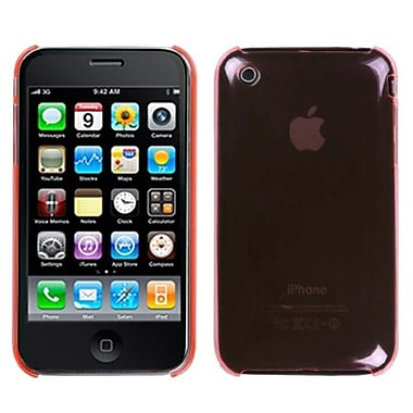 Insten® Slim Back Protector Cover For iPhone 3G/3GS, Hot-Pink