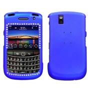 Insten® Diamond Protector Cover For BlackBerry 9630/9650, Titanium Dark Blue
