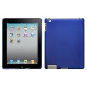 Insten® Back Protector Cover For iPad 2/3/4, Titanium Solid Dark Blue