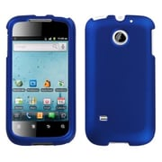 Insten® Phone Protector Cover For Huawei M865 Ascend II, Titanium Solid Dark Blue