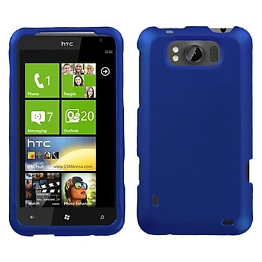 Insten® Faceplate Case For HTC X310a Titan, Titanium Solid Dark Blue