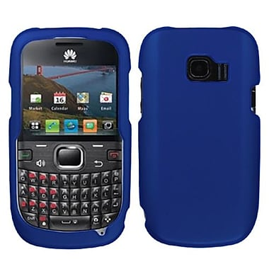 Insten® Rubber Coated Plastic Phone Case For Huawei M636 Pinnacle 2, Titanium Blue