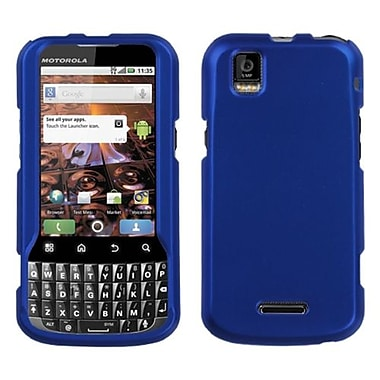 Insten® Protector Case For Motorola MB612 XPRT, Titanium Solid Dark Blue
