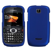 Insten® Protector Case For Motorola WX430 Theory, Titanium Solid Dark Blue