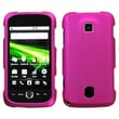 Insten® Rubberized Hard Case For Huawei Ascend, Magenta