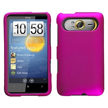 Insten® Protector Case For HTC HD7/HD7S, Titanium Solid Hot-Pink