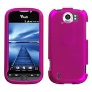 Insten® Protector Case For HTC myTouch 4G Slide, Titanium Solid Hot-Pink