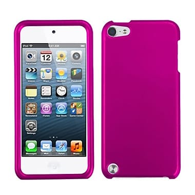 Insten® Phone Protector Case For iPod Touch 5th Gen, Titanium Solid Hot-Pink