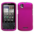 Insten® Protector Case For Motorola XT610 Droid Pro, Titanium Solid Hot-Pink