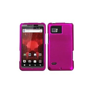 Insten® Faceplate Case For Motorola XT875 Droid Bionic, Titanium Solid Hot-Pink