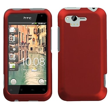 Insten® Protector Case For HTC ADR6330 Rhyme, Titanium Solid Red