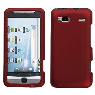 Insten® Protector Case For HTC G2/Vision, Titanium Solid Red