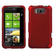 Insten® Protector Case For HTC X310a Titan, Titanium Solid Red