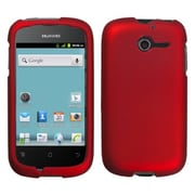 Insten® Phone Protector Cover For Huawei M866, Titanium Solid Red