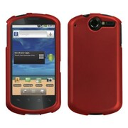 Insten® Phone Protector Case For Huawei U8800 Impulse 4G, Titanium Solid Red