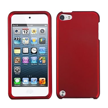 Insten® Phone Protector Case For iPod Touch 5th Gen, Titanium Solid Red