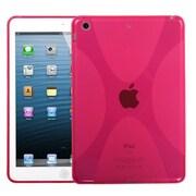 Insten® Candy Skin Cover For iPad Mini/iPad Mini 2, T-Pink X Shape