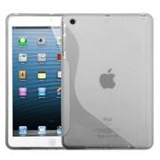 Insten® Candy Skin Cover For iPad Mini/iPad Mini 2, Transparent Clear S-Shape