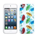 Insten® Silicone Gel Phone Protector Cover For iPod Touch 5th Gen, Umbrella World
