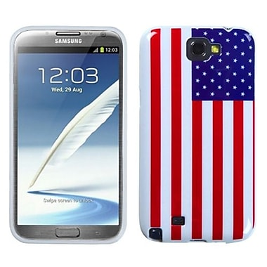 Insten® Candy Skin Cover For Samsung Galaxy Note II, United States National Flag