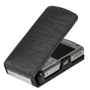 Insten® Vertical Endure Case Pouch For BlackBerry Pearl 8110/8120/8130, Black