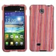 Insten® Protector Cover For LG P870, Vertical Stripes