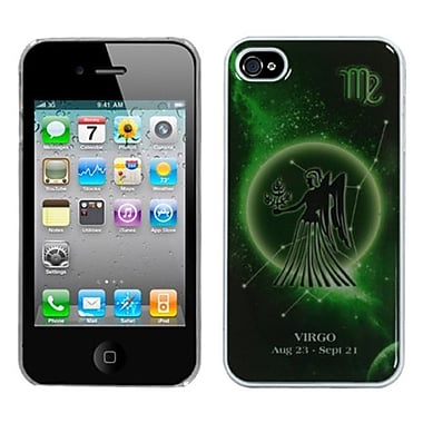 Insten® Horoscope Collection Dream Back Protector Cover F/iPhone 4/4S, Virgo